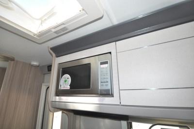 Coachman Pastiche 470 microwave