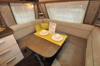 Knaus Sport Silver Caravan Lounge