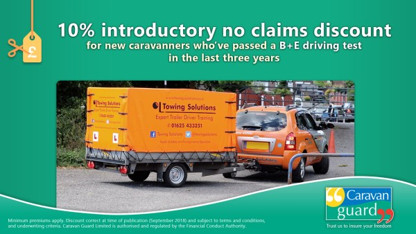 Introductory discount for B+E test