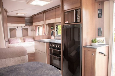 Bailey Pegasus Grande Turin interior kitchen