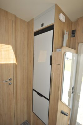 Roller Team Pegaso 590 motorhome fridge
