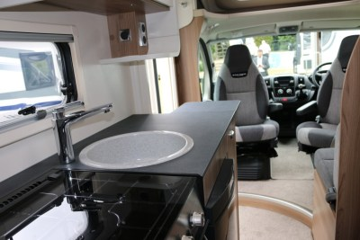 Swift Escape Compact 205 Interior