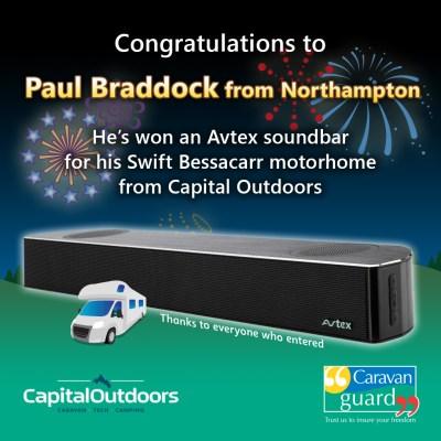 Avtex Soundbar competition winner