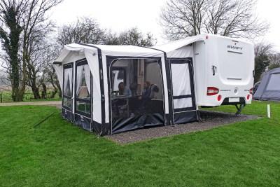 2019 Vango Montelena 400 caravan awning