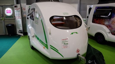 Go-Pod caravan with Plus Pack