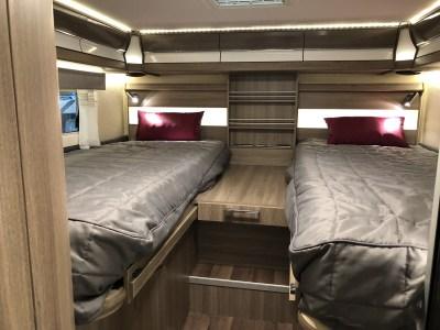 Kabe Travel Master x780 LGB motorhome beds