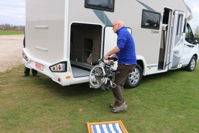Loading your motorhome