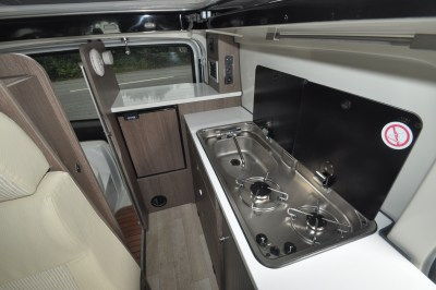 2019 Randger R535 campervan kitchen