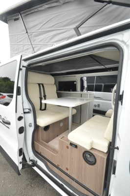 2019 Randger R535 campervan sliding door