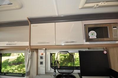 2019 Coachman Laser 650 caravan microwave