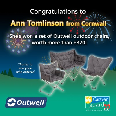Outwell chairs competition winner