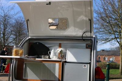 Carette 1500 caravan kitchen facilities
