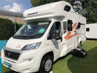 2020 Swift Edge 476 motorhome