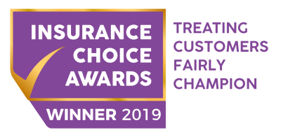 Insurance Choice Awards Treating Customers Fairly Champion