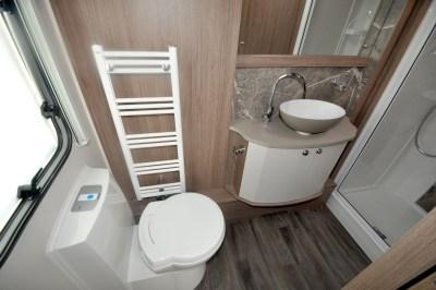 2020 Coachman Laser Xcel 875 caravan washroom