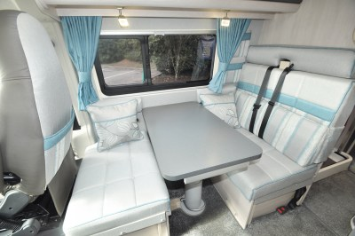 2020 Auto-Sleeper Fairford Plus motorhome dinette