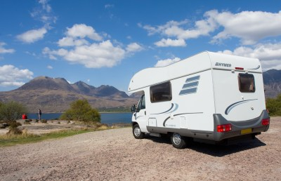Motorhome in Scotland