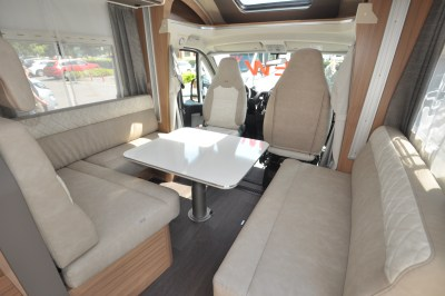 2020 Adria Matrix Axess 520 ST motorhome interior
