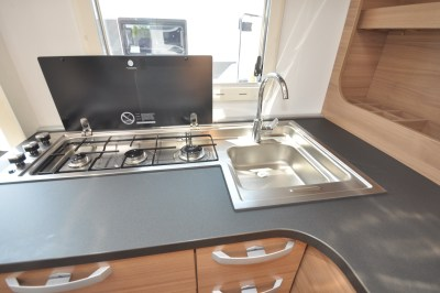 2020 Adria Matrix Axess 520 ST motorhome kitchen