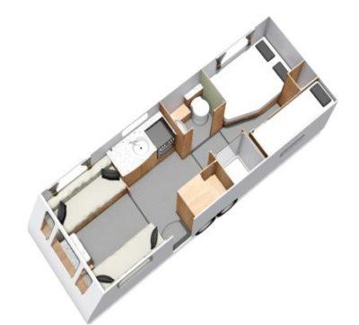 Elddis Avanté 868 floorplan