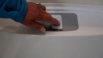 caravan toilet flush