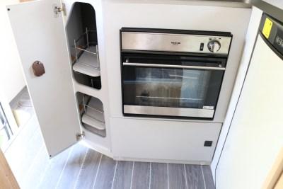 2020 Roller Team T-Line 743 motorhome kitchen