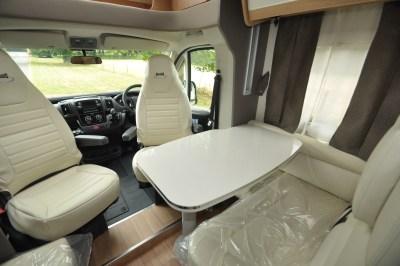 2020 McLouis Fusion 367 motorhome lounge
