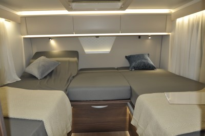 2021 Adria Matrix Supreme 670SL single beds