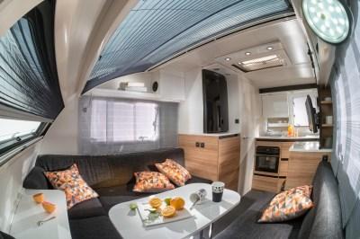 Adria Action cool caravan interior