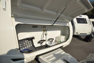 Caravelair Antares 480 gas locker