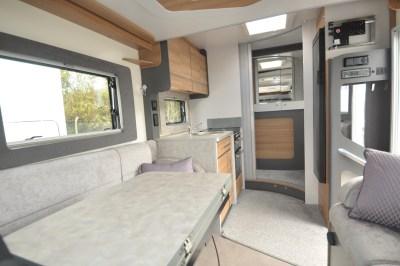 2021 Bailey Adamo 69-4 motorhome interior