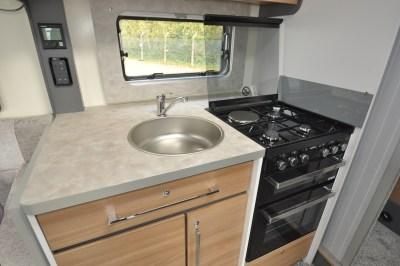 2021 Bailey Adamo 69-4 motorhome kitchen