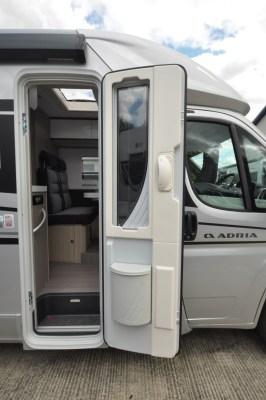 Adria Compact Supreme SC motorhome door