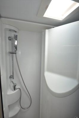 Adria Compact Supreme SC motorhome washroom