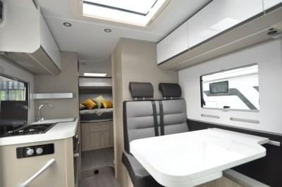 Adria Compact Supreme SC motorhome lounge