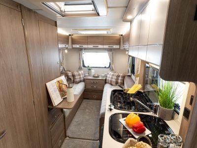 2021 Compass Navigator motorhome kitchen