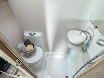 Compass Navigator motorhome washroom