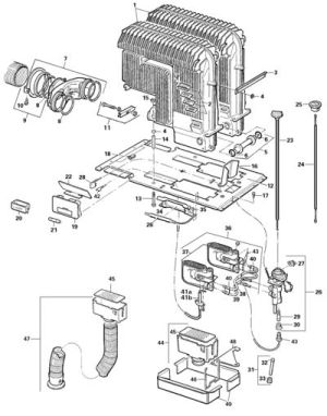 CCG 89200 Truma S 5002 Heater Parts List CaravanPartscouk