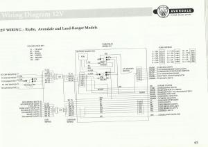 Water Pump Wiring And Pipe Diagram  Avondale Caravans
