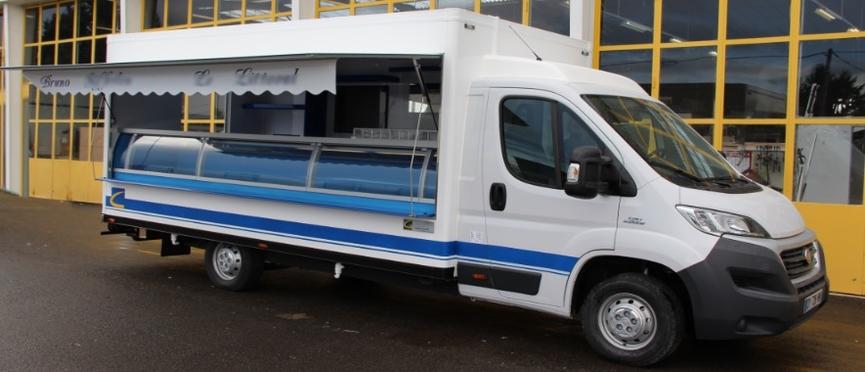 Fabricant Camion Remorque Poissonnier Poissonnerie