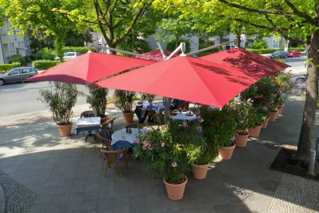 Sonnenschirm Amalfi Quadro CARAVITA
