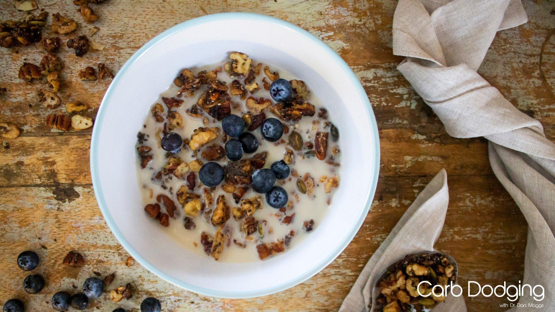 Winter Spiced Granola