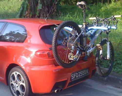Alfa Romeo Mito Bike Rack