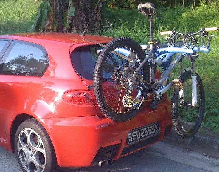 Alfa Romeo Mito Bike Rack