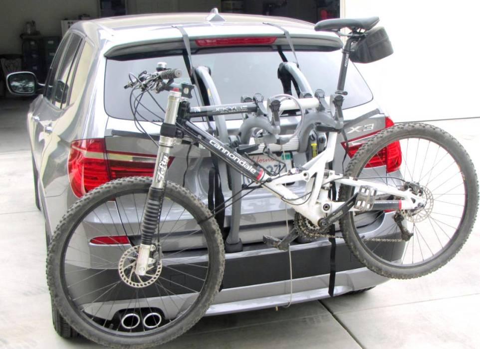 BMW X1 Bike Rack