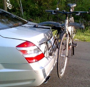 Lexus GS Bike Rack