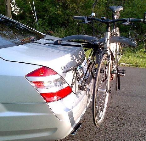 Jaguar XJ Bike Rack