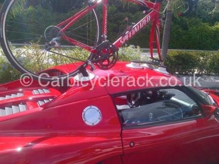 Lotus Elise Bike rack