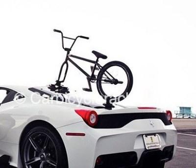 Ferrari Bike Rack