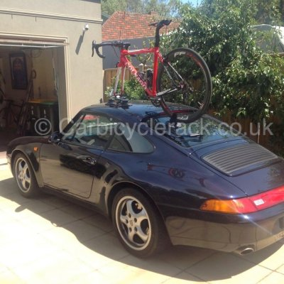 911 Bike Rack fitted to 993 model